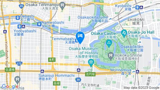 APA Hotel Osaka Temmabashi Ekimae Map