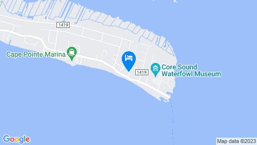 Core Sound Lodge Map