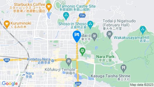 Kanko Hotel Tamaru Map