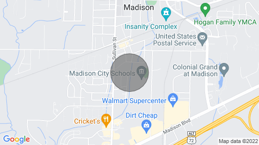 Location, Location, Location. Close to Everything Map