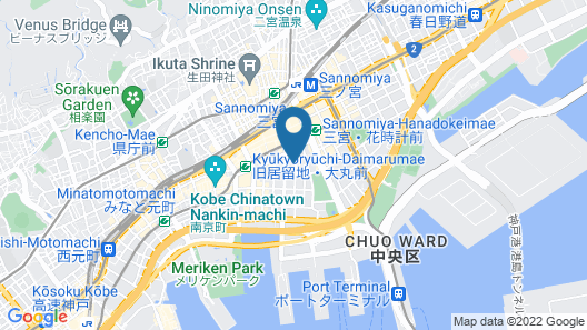KOBE LUMINOUS HOTEL SANNOMIYA Map