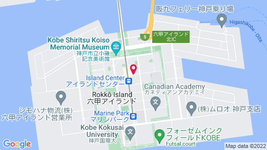 Kobe Bay Sheraton Hotel & Towers Map