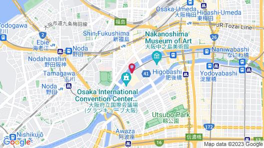 RIHGA Royal Hotel Osaka Map