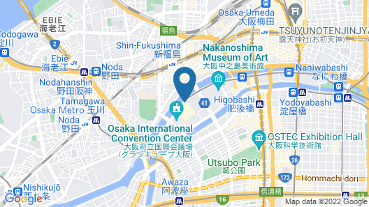 RIHGA Royal Hotel Osaka Map