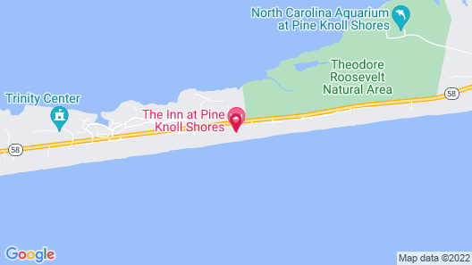 The Inn At Pine Knoll Shores Map