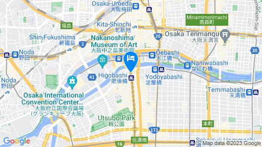 RIHGA Place Higobashi Map