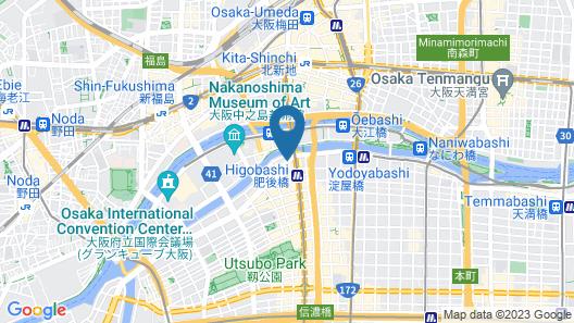 APA Hotel Osaka-Higobashi-Ekimae Map