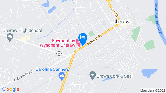 Baymont by Wyndham Cheraw Map