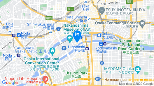 Mitsui Garden Hotel Osaka Premier Map