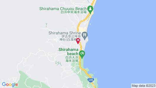 Beachside Inn Shirahama Map
