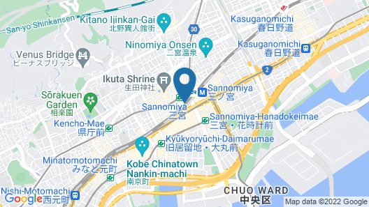 Remm Plus Kobe Sannomiya Map