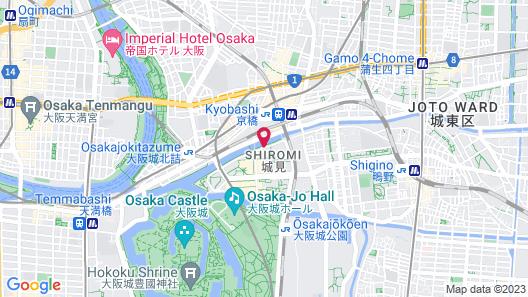 Hotel Monterey La Soeur Osaka Map