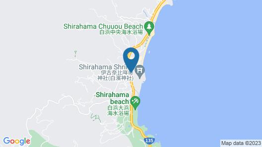 Shirahama Guesthouse U-chan-chi Map