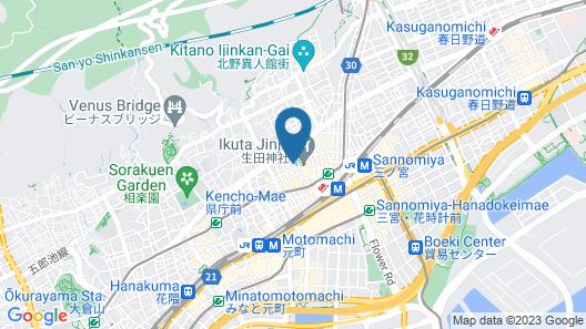 Hotel Monte Hermana Kobe Amalie Map