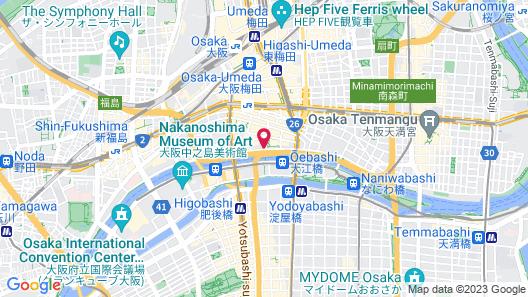 ANA Crowne Plaza Osaka, an IHG Hotel Map