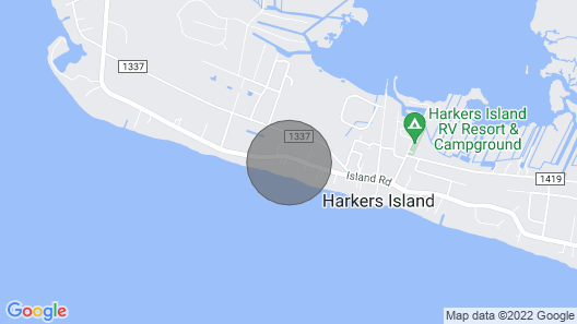 Inexpensive Little Bungalow On Harkers Island Map