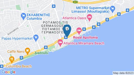 Harmony Bay Hotel Map