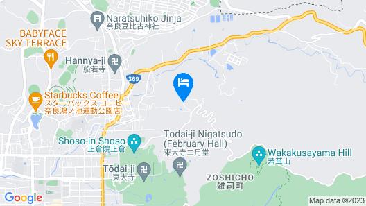 Mikasa Ryokan Map