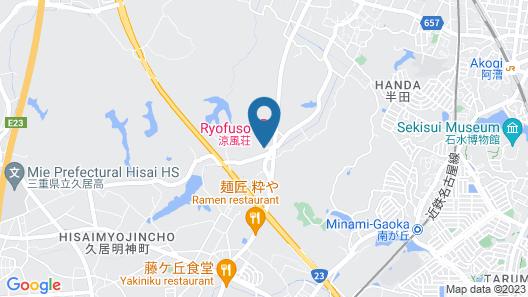 Mado Onsen Ryofuso Map