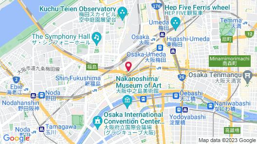 The Ritz-Carlton, Osaka Map