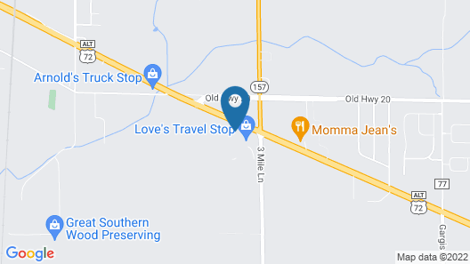 Best Western Plus Tuscumbia Muscle Shoals Hotel and Suites Map