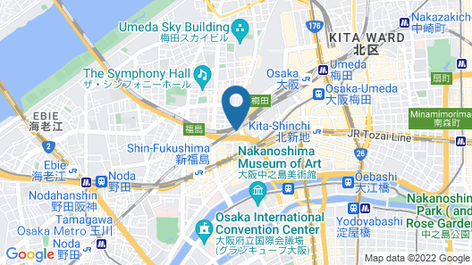 APA Hotel Osaka Umeda Map