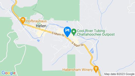 Holiday Inn Express Helen, an IHG Hotel Map