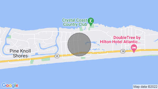 Family Friendly House With Private Beach and Sound Access! Map