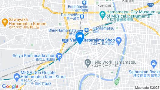 APA Hotel Hamamatsueki Minami Map