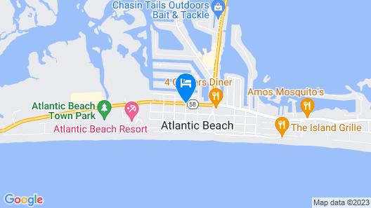 Ocean Sands Map