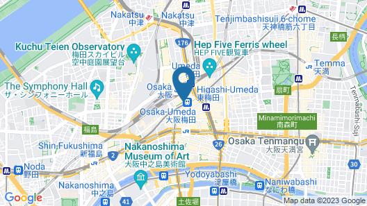 Hotel Granvia Osaka Map