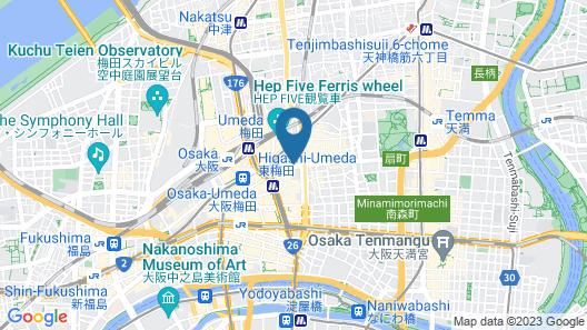 ibis Osaka Umeda Map