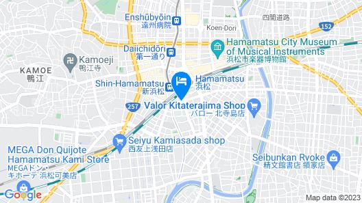 EN HOTEL Hamamatsu Map