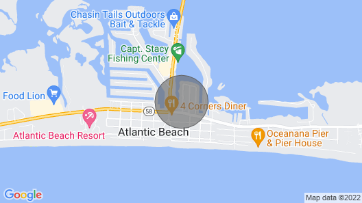 Waterfront With Boat Slip! Map