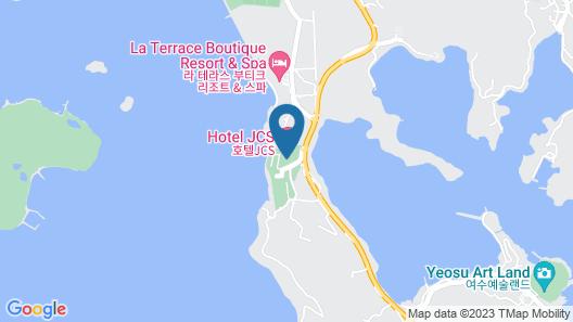 Hotel JCS Yeosu Map
