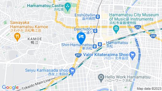 HOTEL LEON HAMAMATSU Map