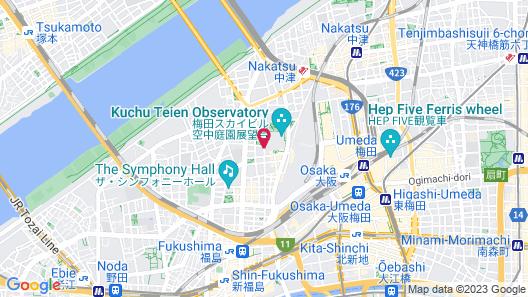 The Westin Osaka Map
