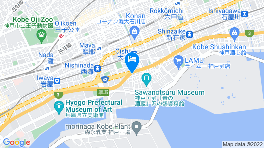 Hotel Shizku - Adults Only Map