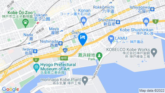 Hotel Lotus Kobe - Adults Only Map
