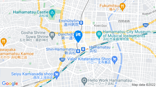 Daiwa Roynet Hotel Hamamatsu Map