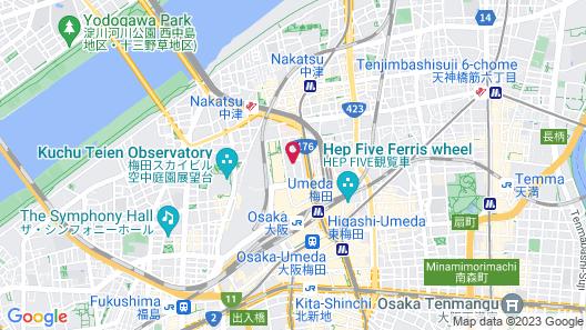 Hotel Vischio Osaka by Granvia Map