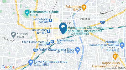 Okura Act City Hotel Hamamatsu Map
