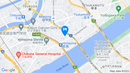 Himesato Guesthouse ICONE Map
