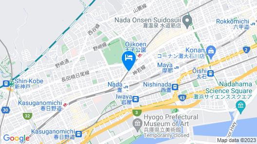 Guest House MAYA -Hostel Map