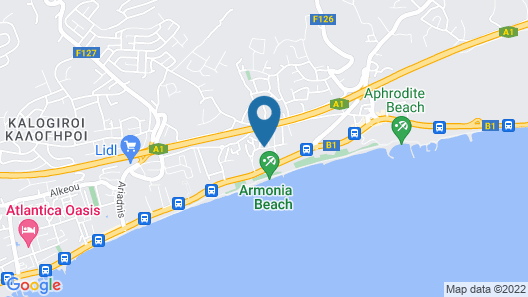 Navarria Hotel Map
