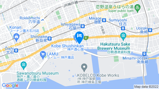 Hotel Porto di Mare KOBE - Adults Only Map