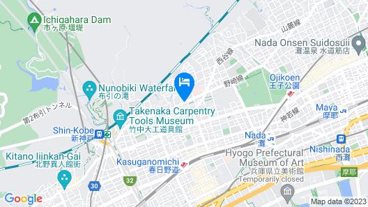 Sea View Court Kobe Map
