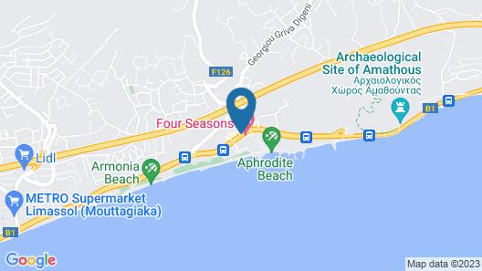 Four Seasons Hotel Map