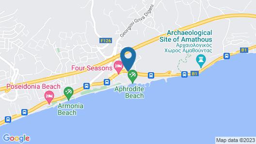 Mediterranean Beach Hotel Map