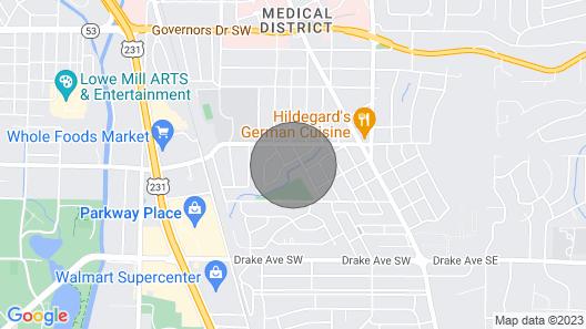 Bright Bonita Bungalow-Yard-Deck-Medical District Map